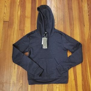 Adidas Womens Extra Small Navy Blue Hoodie New Wit